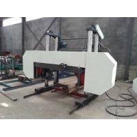 Buy cheap Automatic Wood Band Saw Machine Electric Motor Log Cutting Horizontal Bandsaw Mill from wholesalers