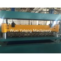 Buy cheap Auto Hydraulic Cut to Length Corrugated Roll Forming Machine OMRON Encoder product