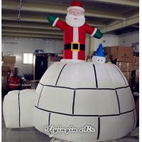Quality Customized Christmas Decorations Inflatable Santa Claus for Party Supplies wholesale