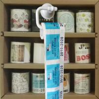 Quality Toilet paper roll  3 layer 200 sheets 100% wood virgin pulp printed toilet paper wholesale