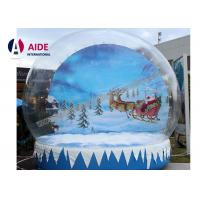 Quality 5M Air Snow globes Inflatable Holiday Decor Fun Place take Photo with family Show wholesale