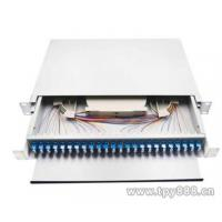 Quality High Density Fiber Optic Patch Panel Fiber Optic Distribution Frame 19 Width wholesale