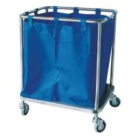 Quality Laundry Cleaning Mobile Feculence Medical Cart On Wheels Aluminum Alloy Trolley wholesale