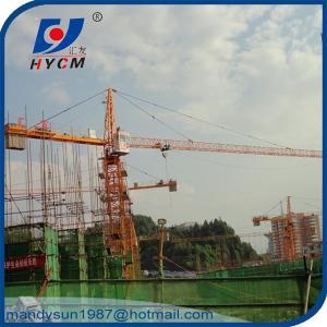 Quality QTZ250 Topkit Tower Crane TC7030 Grue Tour 12 ton with A.C. and Crane Cabin wholesale