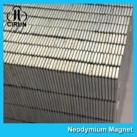 Quality Square Industrial Neodymium Magnets Bar Block N54 Grade High Strength wholesale