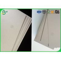 China Promotional price grey board duplex board triplex paper grey chipboard on sale
