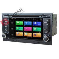 Quality Octa Core 64bit Processor 2 Din Car Dvd Player Audi A4 Head Unit Supports 4K Video wholesale