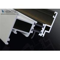 Cheap Custom Extruded Aluminium Sliding Door Extrusions 6063 - T5 , White Powder Painting for sale
