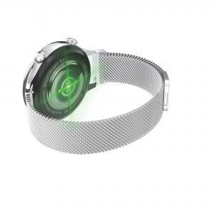 Quality Metal Shell Waterproof 4.2V Ladies Bluetooth Smart Watch wholesale