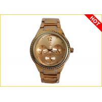 Buy cheap Men's Quartz Watches 2 Tone Color Plating 3ATM Waterproof Supplier Warranty for 1 Year product