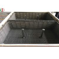 China 1.4849 Heat Treatment Furnace Wire Mesh Basket Iron Forging Furnace Trays And Baskets EB3197 on sale