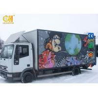 China Entertaining Game Center Mobile Movie Theater Simulator Truck 5D 7D Cinema on sale
