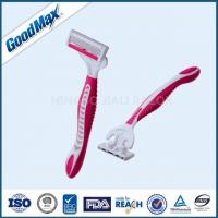 Quality ISO Approved 4 Blade Disposable Razors , Comfortable Shave Men'S 4 Blade Razor wholesale