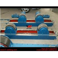 Quality Conventional 10 Ton Tank Welding Rotators for Boiler Industry , PU Roller Turning Rolls wholesale
