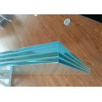 China Colored / Clear PVB Laminated Glass 6.38mm 8.38mm 8.76mm Thickness For Construction on sale