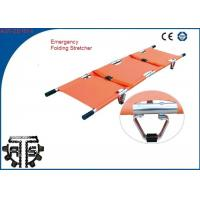 China Foldaway Patient Transfer Stretcher Auminum Alloy Medical Stretcher on sale
