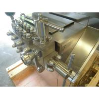 Quality 304 Stainless Steel Milk Homogenizer Machine Two Stage Mechanical Pressure wholesale