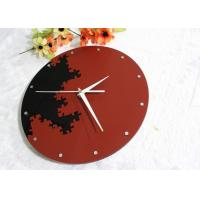 Quality Acrylic Round Wall Clock Classical Mosaic Culture sticker clock wholesale