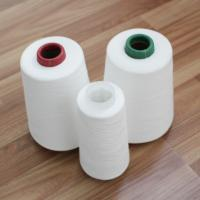 Quality Z / S Twist Raw White Polyester Yarn for Sewing Thread OEM Manufacture wholesale