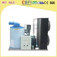 Buy cheap 316 Stainless Steel 3 Ton Saltwater Flake Ice Machine Low Power Consumption from wholesalers