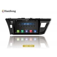 Quality 16Gb Flash Toyota Car DVD Player 10.1 Inch 1024X600 Ips Optional  / Toyota corolla 2014 wholesale