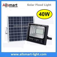 Buy cheap 40W Solar Flood Lights Outdoor Solar Light Solar Garden Lamp With Remote Controller for Patio Street Parking Lot from wholesalers