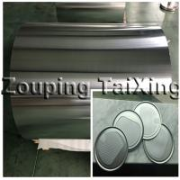 Quality 8011 90mic aluminium foil for dry food can lids wholesale