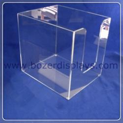 "China Clear Acrylic Bin 11.5""w x 14.0""d x 13""t for sale"