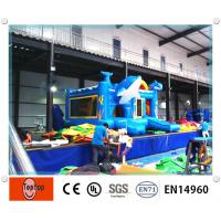 Quality Indoor Large Dolphin Commercial Inflatable Bouncers inflatable bounce house wholesale