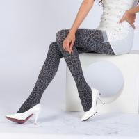 Quality Womens Fashion Nylon/Spandex Jacquard Cheetah Pantyhose wholesale