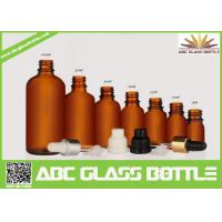 Quality 5ml, 10ml,15ml,20ml,30ml,100ml Empty Glass Essential Oil Bottle With Pipette wholesale