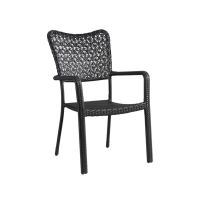 Quality Indoor Outdoor 62cm Length 58cm Depth Rattan Patio Chairs All Weather wholesale