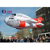 China Oxford Cloth Fly Air Plane Blow Up Advertising With CE Blower For Promotion on sale