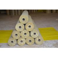 Quality Low Dust Rockwool Pipe Insulation , Mineral Wool Thermal Insulation Pipe wholesale