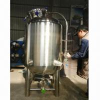 China 3bbl bright tank, made of 304 stainless steel on sale