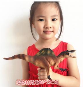Quality Customized Dinosaur Model Toys L28*W7.5*H13 Plastic Jurassic Park Spinosaurus Toy wholesale