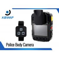 Quality Security Guard Police Body Cameras , 32GB Bluetooth Body Camera Battery Life Long wholesale