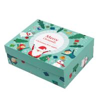 China CMYK Printing Christmas Packaging Boxes Christmas Gift Boxes With Lids Tray on sale