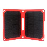 Quality Lightweight 14W Solar Powered Smartphone Charger For Outdoor Camping wholesale