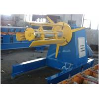 Buy cheap 5 Tons Steel Coil Decoiler Roll Forming Production Line With 4KW Power Motor from wholesalers