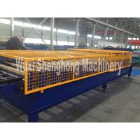 Buy cheap GI. PPGI aluminum Corrugate Sheet Roll Forming Machine with super fast forming from wholesalers