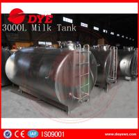 Quality 5,000 Litre Horizontal Milk Cooling Tank Mueller Milk Tank Copper wholesale
