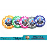 Quality High Precision Casino Poker Chip Set / Poker Table Set For Gambling Games wholesale