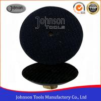 "Quality 3"" , 4"" , 5"" Rubber Granite Polishing Pads Holder , Black Color Diamond Polishing Discs wholesale"