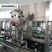 Quality Plastic Bottling Juice Filling Machine / Production Line For Tea wholesale