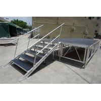 China RK Height adjustable aluminum stage for sale/portable stage backdrops on sale