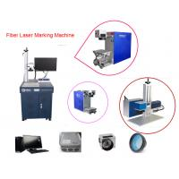 Quality Ink Cartridge Fiber Laser Engraving Machine 10W With Fast Marking Speed wholesale