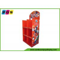 Quality Paperboard Portable Store Advertising Towel Floor Display Stand FL081 wholesale