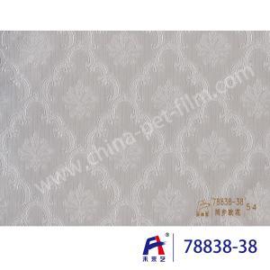 Quality PVC  Coating  Film    PVC Decorative Film  Synchronized European flower78838-38 wholesale