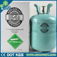 Quality refrigerant gas r134a with disposable cylinder package 13.6kg wholesale